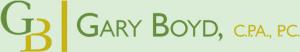 Gary Boyd, CPA Certified Public Accountant