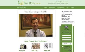 Gary Boyd, CPA in Las Vegas Logo